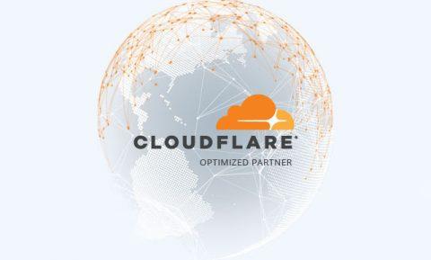 Είμαστε πλέον επίσημοι Cloudflare Optimized Partners
